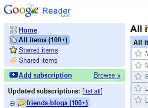 Google Reader plays nice with Feedburner