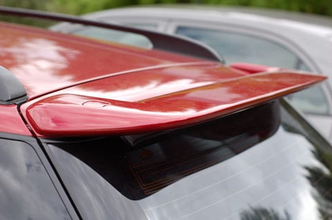 The Subaru Factory Spoiler Install from Hell…
