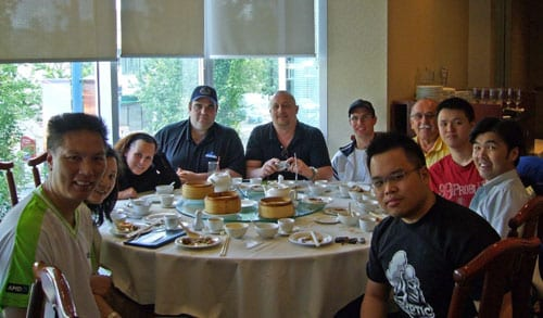 DOT COM DIM SUM at KIRIN Restaurant in Richmond BC