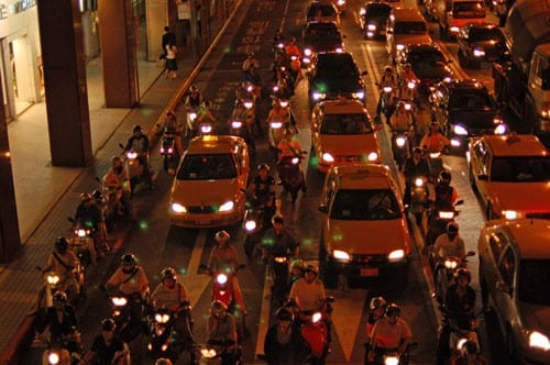 Five Things I Observed About Traffic in Taiwan