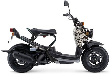 Honda Moped on The Honda Ruckus