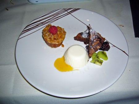 Roy's Dessert Sampler Plate