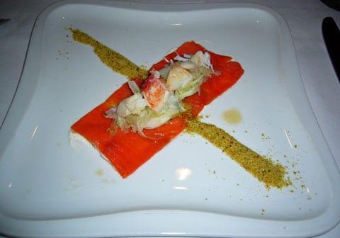 Salmon…not so good…