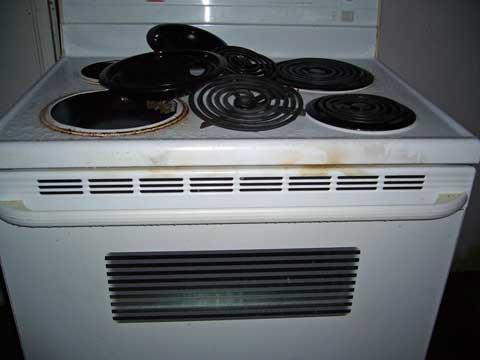 Burning Oven!