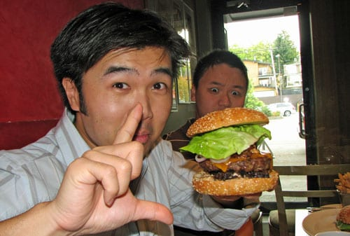 Dot Com Foodies Feel the Wrath of the Feenie Burger!